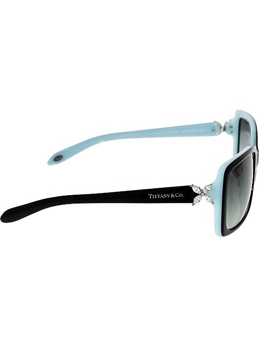 e34207f2e6e6 Amazon.com  TIFFANY   CO. Victoria TF 4047B - 80553C Rectangular Sunglasses  Black