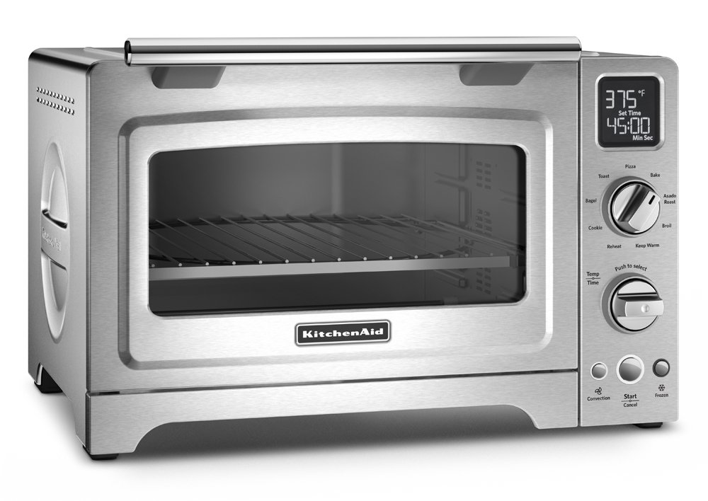 KitchenAid KCO275SS Convection 1800-watt Digital Countertop Oven, 12-Inch, Stainless Steel