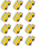 Teacher Created Resources 5420 School Bus Mini Accents