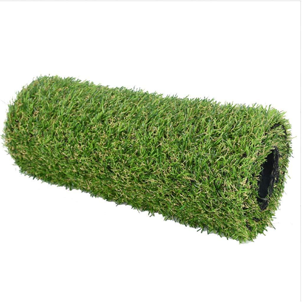 YNFNGXU 2メートル×1メートル25ミリメートル草カーペットパイル高暗号化人工芝ガーデン芝生偽芝 (サイズ さいず : 14x1m) B07RJXWQFC  14x1m
