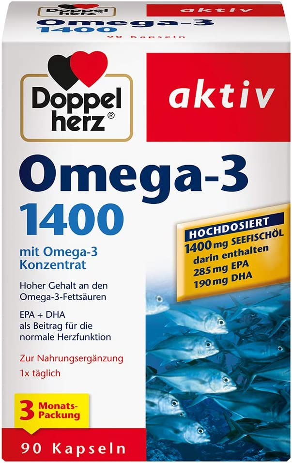 Doppelherz Omega-3 1400 mg (hochdosiert)