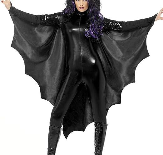 GHTWJJ Disfraz De Halloween para Mujer Cosplay Juego De rol Batman ...