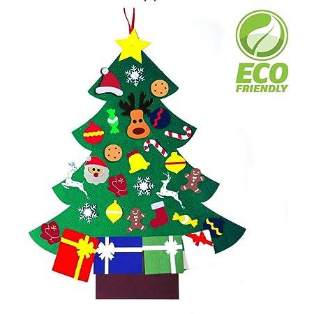 Dekoracje ścienne Dom I Meble Felt Christmas Tree 3ft 90cm