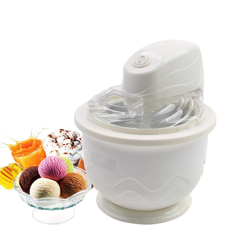 DIY Electric Automatic Ice Cream Maker MINI Soft Serve Ice Cream Machine Frozen Fruit Dessert Sorbet Slush Milkshake Mixer