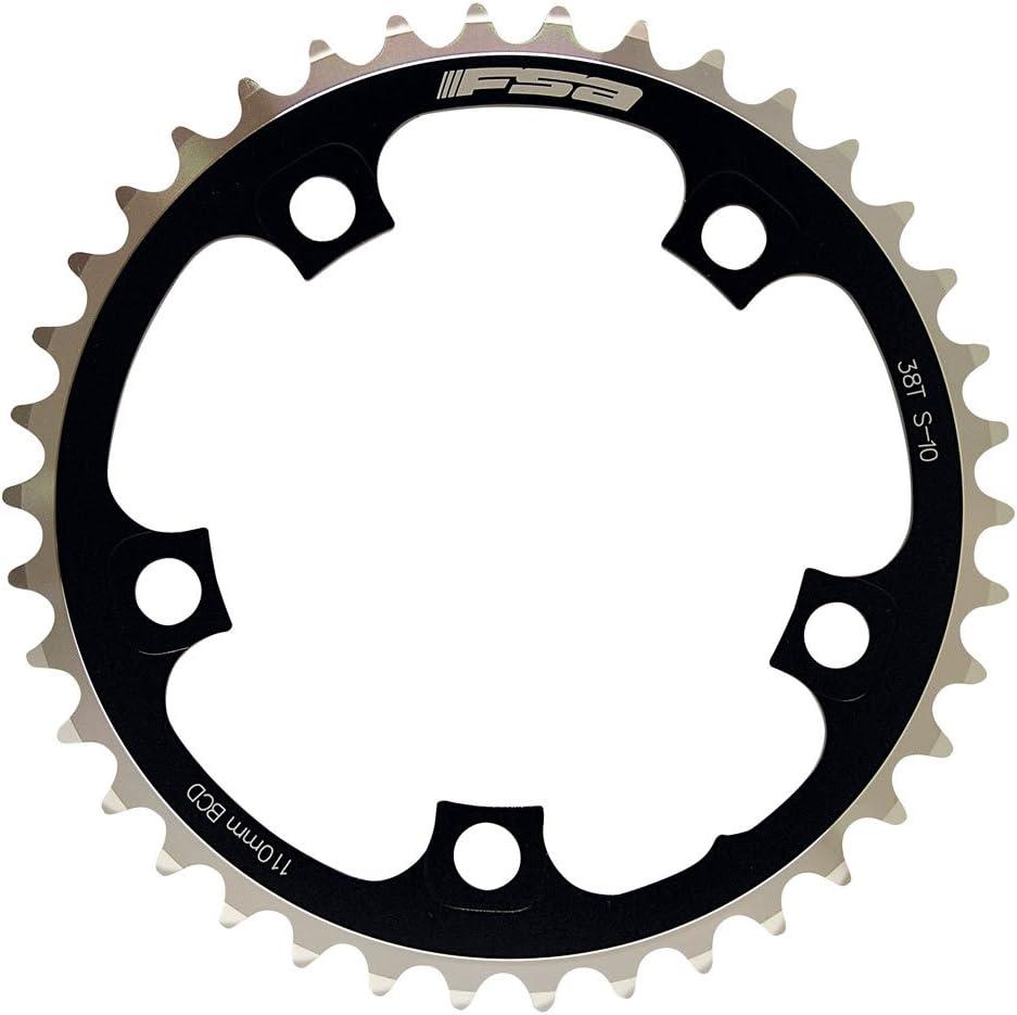 Plato interno de ciclismo color negro /F.S.A FSA Compact 110 mm 36