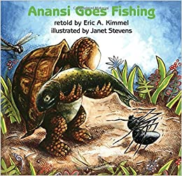 Anansi goes fishing eric a kimmel janet stevens 9780823410224 anansi goes fishing eric a kimmel janet stevens 9780823410224 amazon books fandeluxe Image collections