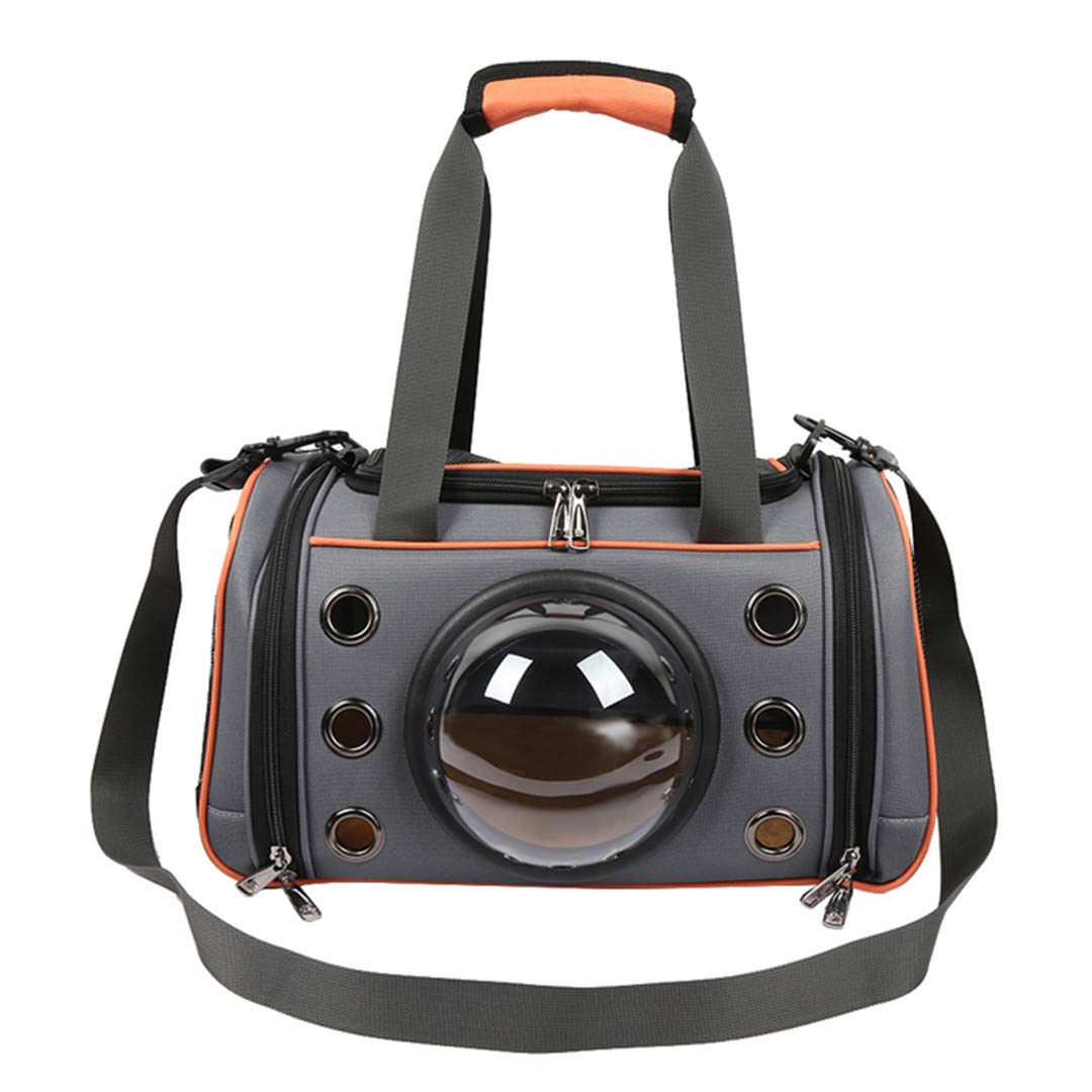Tangerine Small Tangerine Small Pet Carrier Bag Space Capsule Shape Breathable Handbag Outdoor Travel Shoulder Bag Soft Kennel Large Small Dogs Cats Tangerine Small