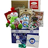Our Sweetest Snowman Christmas Cookie and Candy Care Package Holiday Gift Box