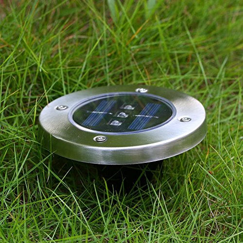 Outdoor Solar Lights In Ground: Covboa Solar Powered Ground Light Outdoor Lights