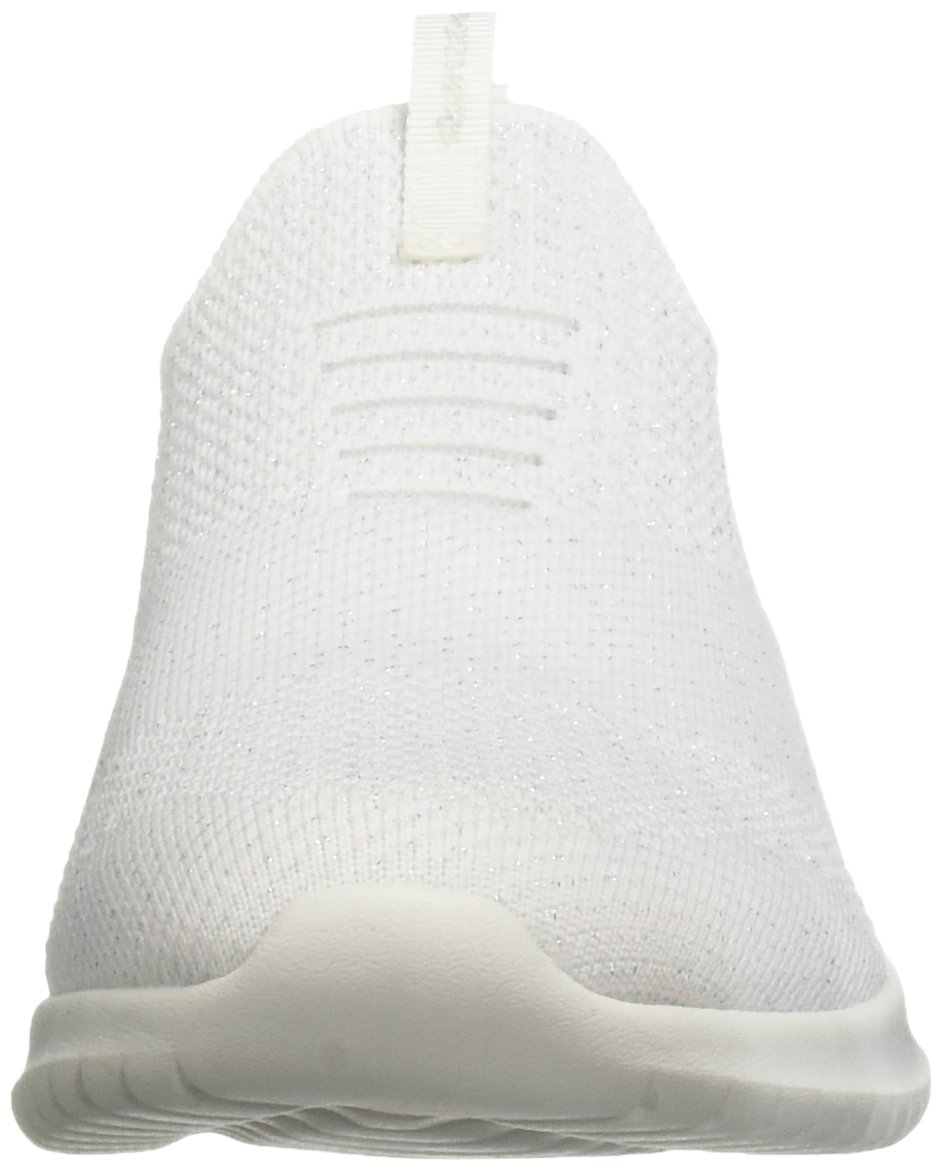 Skechers Ultra Damen Slipper Ultra Skechers Flex Metamorphic Weiß/Silber Weiß 07f1a0