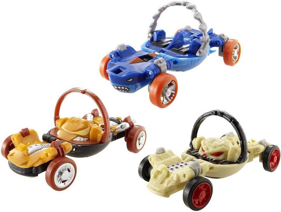 Mattel Hot Wheels - Pack 3 Coches Hot Wheels Ballistiks: Amazon.es: Juguetes y juegos