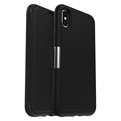 official photos c3680 77655 OtterBox STRADA SERIES Case for iPhone Xs Max - Retail Packaging - SHADOW  (BLACK/PEWTER)