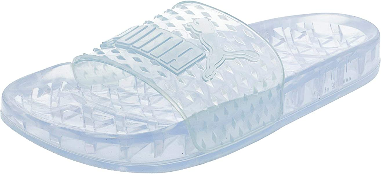 62bd558ee PUMA Women's Fenty x Jelly Slides | Amazon