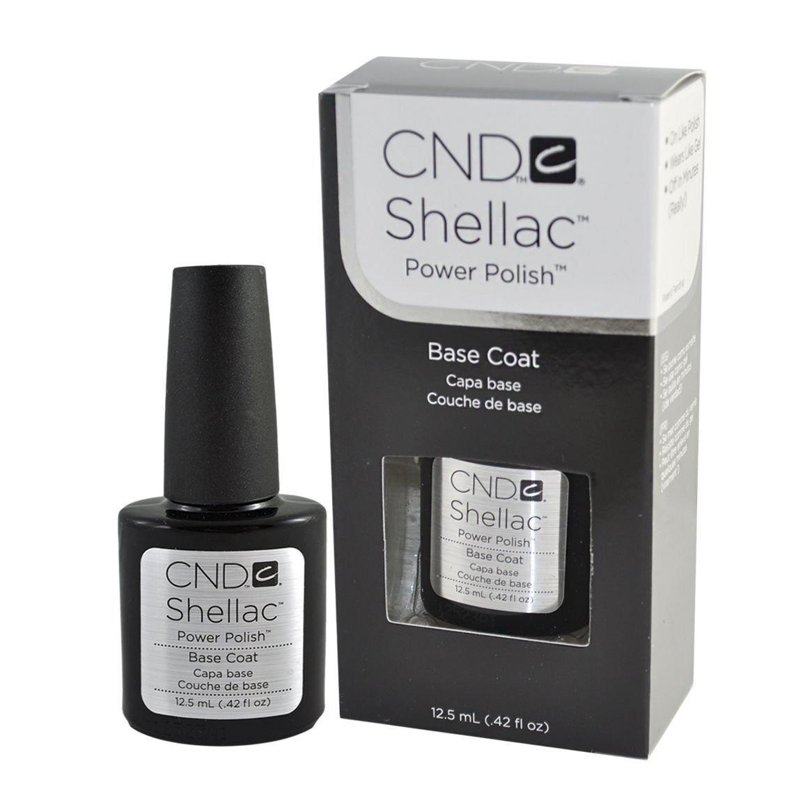 Shellac UV Base Coat Large Size 0.42 oz - 1 pc