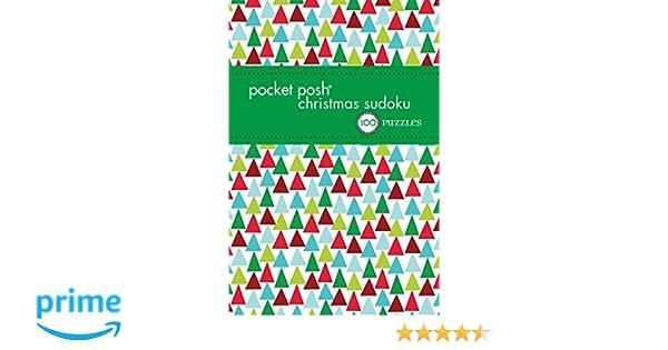 Christmas Sudoku.Pocket Posh Christmas Sudoku 6 100 Puzzles The Puzzle
