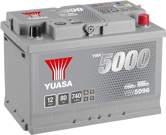 : YUASA BATTERIE YUASA YBX5334 SILVER 12V 100Ah 830A