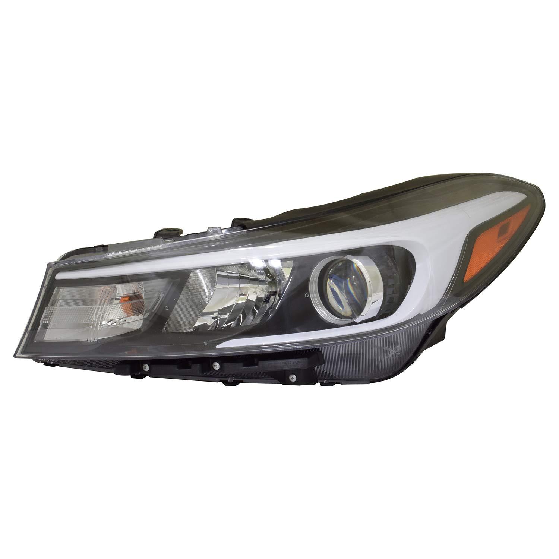 No variation Headlight Assembly Multiple Manufactures KI2502201N Standard