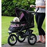 Pet Gear NV No-Zip Pet Stroller Skyline