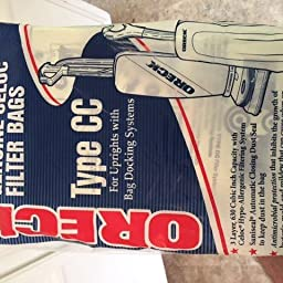 Amazon Com Oreck Paper Bag Oreck Type Cc Uprights Hypoallergenic 8 Bags Oreck Vacuum Bags