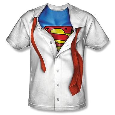 Amazon.com: Superman Men's I Am Sublimation Print Polyester T ...