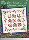 img - for Ribbon Embroidery Motifs from Baltimore Album Quilts (American School of Needlwork #3414) book / textbook / text book