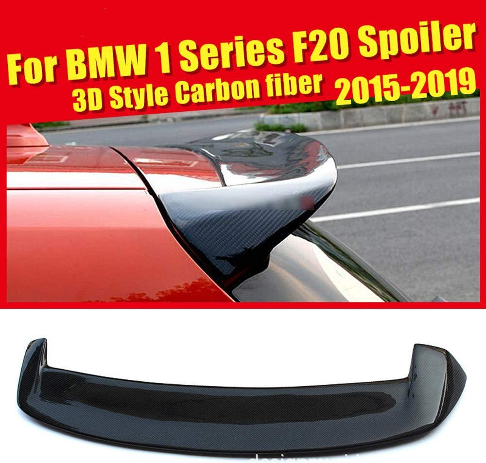 HJHNB ala Superior Carbon Fiber Rear Spoiler del Aler/ón Trasero De Fibra De Carbono para BMW Serie 1 F20 116i 118i 120i 125i 135i 135is Modificaci/ón Dominante 2015 2016 2017 2018 2019