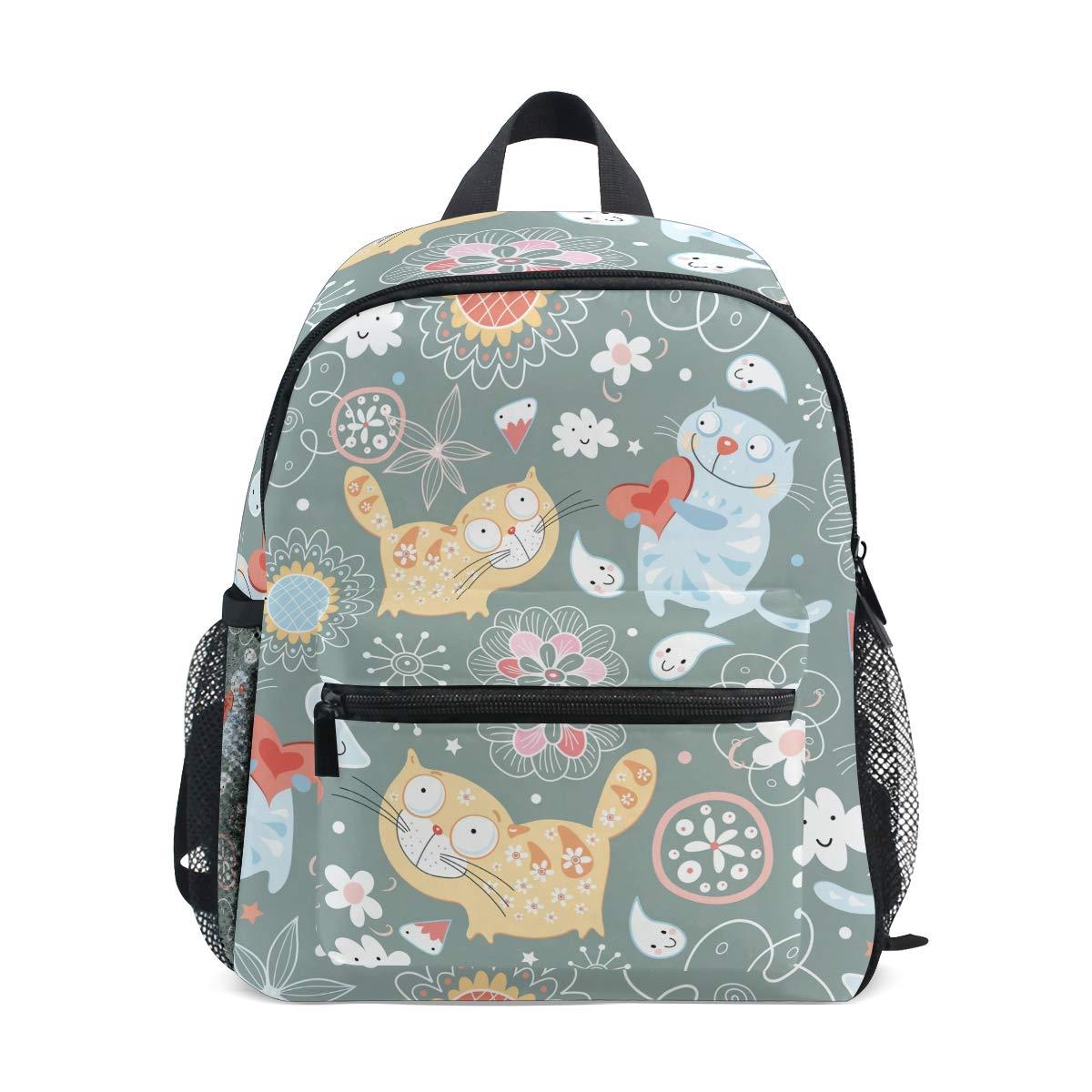 FAJRO® Love Cats - Mochila Escolar para niñas
