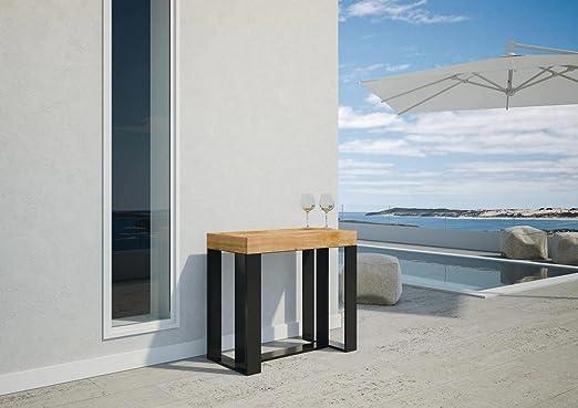 Ideapiu Consola Extensible de Exterior, mesas Plegables, mesas de ...