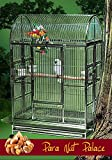 Para Nut Palace Stainless Steel Extra Large Bird Cage - Perfect for Large Parrots, Macaws, Cockatoos, Large Birds/Parrots - 42W x 28D x 66H - Cage Only Larger Image