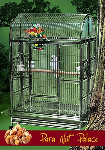 Para Nut Palace Stainless Steel Extra Large Bird Cage - Perfect for Large Parrots, Macaws, Cockatoos, Large Birds/Parrots - 42