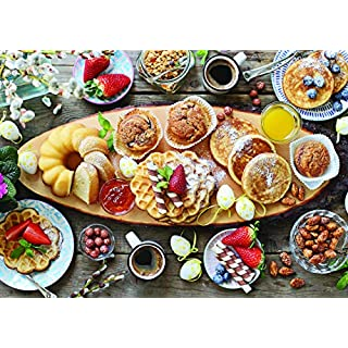 1000 Piece Puzzle for Adults: Beautiful Breakfast Jigsaw Puzzle