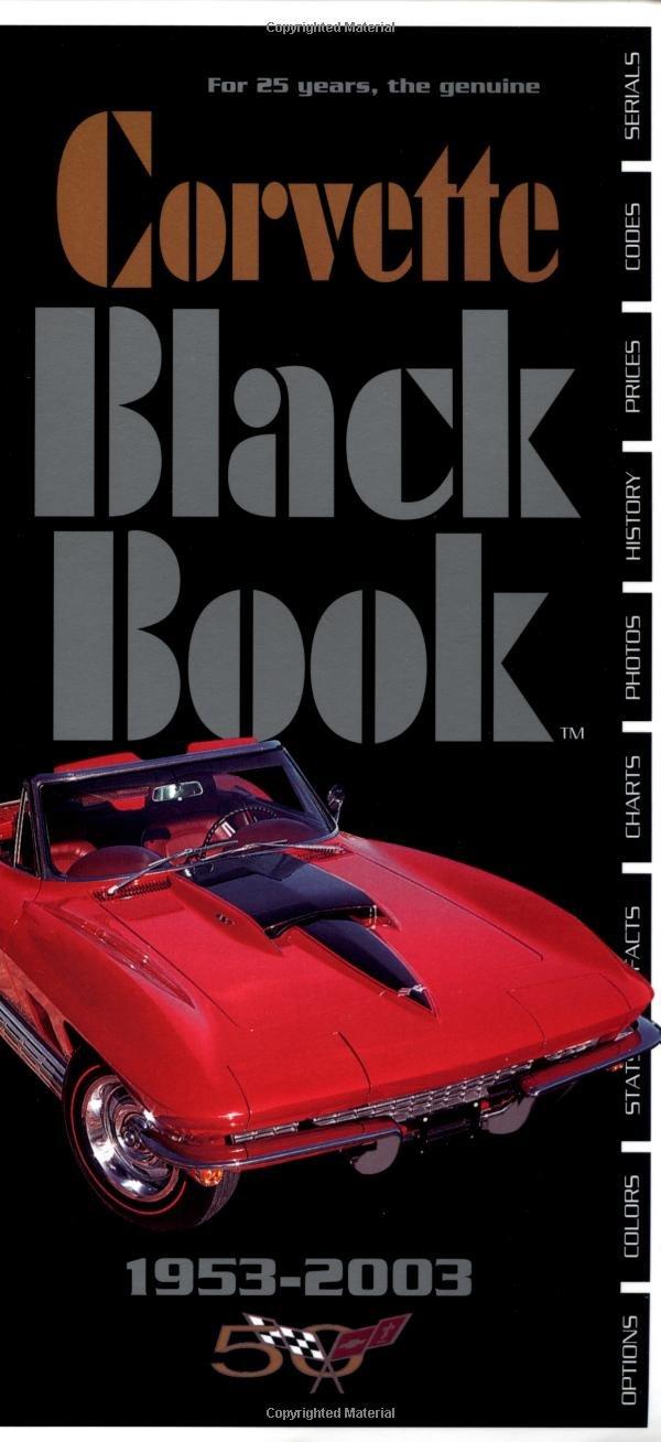 Corvette Black Book 1953-2003 pdf
