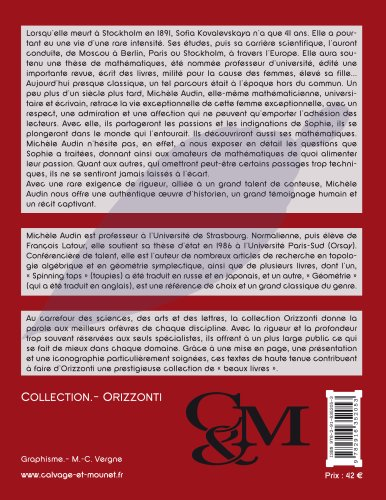 Souvenirs sur sofia kovalevskaya (Orizzonti): Amazon.es: Audin ...