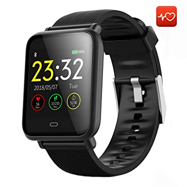 CanMixs Smart Watch CM07 Impermeable IP67 Actividad Fitness Tracker Reloj con monitor de ritmo cardíaco Podómetro