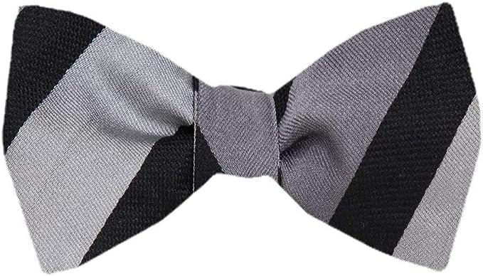 Tie yourself Bow Ties Silk Mens Stripe Self tie Bowtie