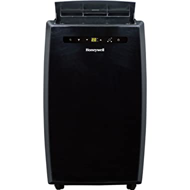Portable Air Conditioner with Dehumidifier & Fan for Rooms Up To 550 Sq. Ft. with Remote Control in Black