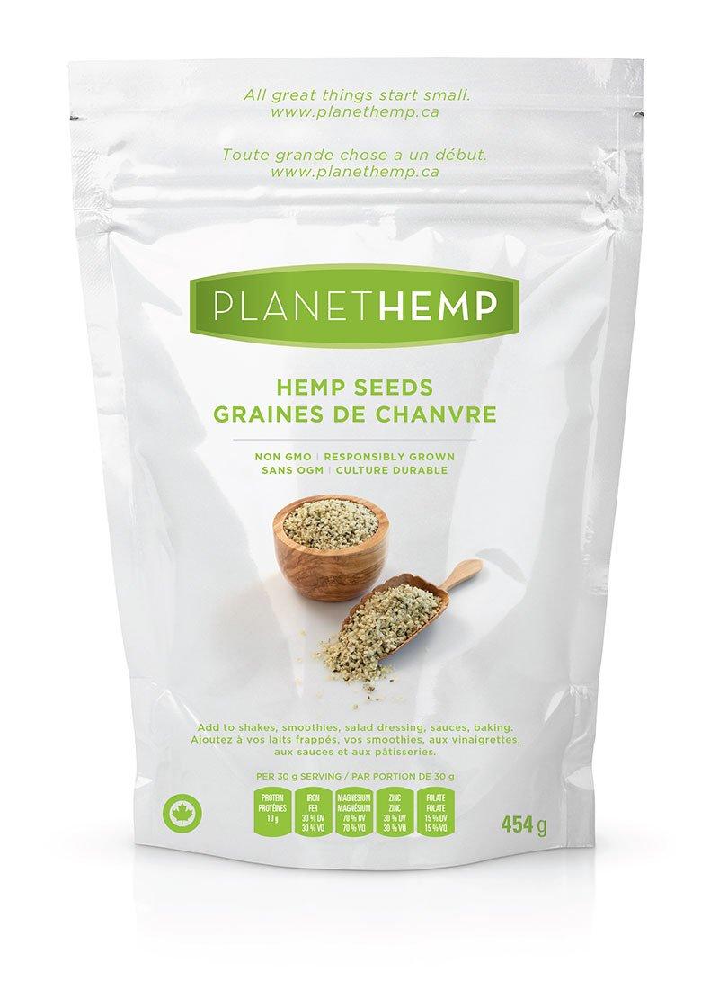 Planet Hemp Hulled Hemp Seeds - 454g by Planet Hemp (Image #6)