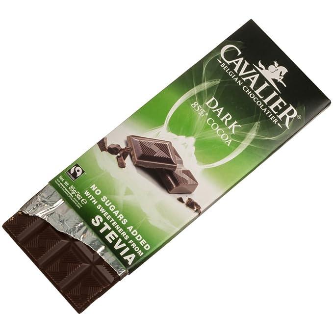 Cavalier - Belgian Dark 85% Cocoa Chocolate Bar - 85g