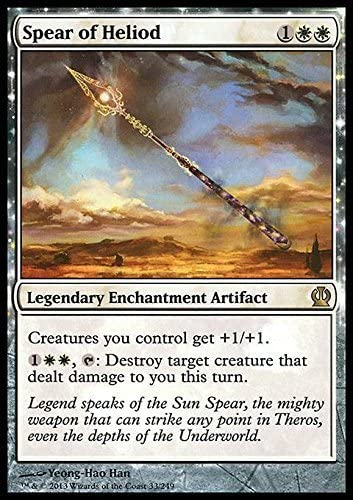 Mtg spear of heliod  x 2 great condition