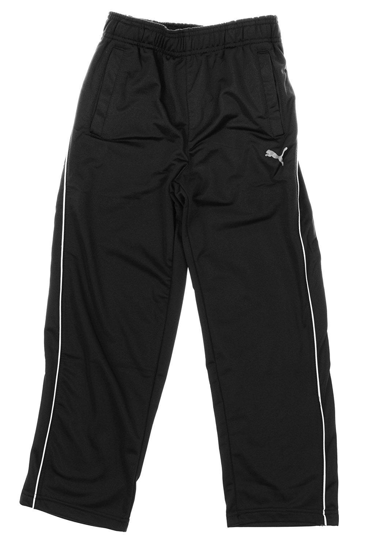 Puma Youth Big Boys Pure Coat Track Pant (Medium (10/12), Charcoal)