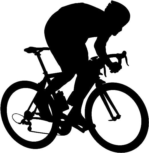 Bicicleta Pared Adhesivo 6 – adhesivo mural de pegatinas y para ...