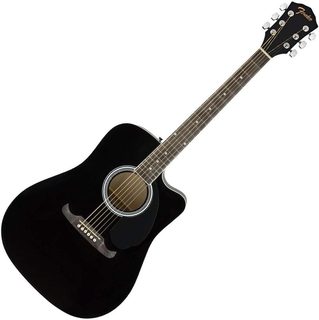 Fender FA-125CE BLK · Guitarra acústica