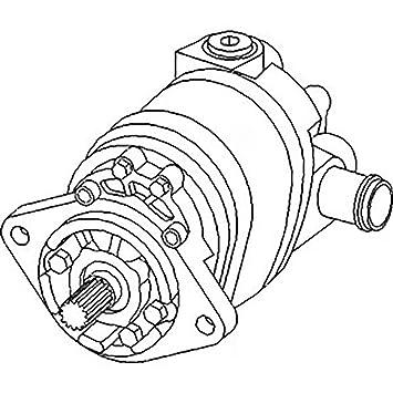Amazon Com New Hydraulic Pump 70263552 Fits Allis Chalmers 6060