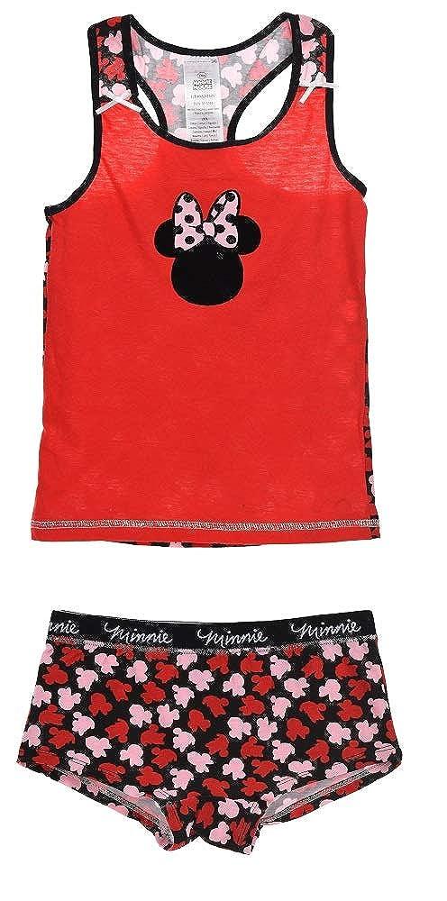 Disney Minnie Mouse Bambina Mutandine Coordinato Intima