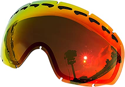 fc1d519baa Zero Replacement Lenses For Oakley Crowbar Snow Goggle Red Mirror ...