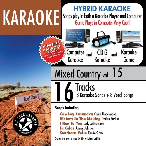 ASK-821 All Star Karaoke: Mixed Country 15