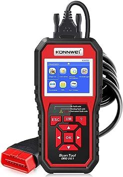 Diagnóstico OBDII KONNWEI KW850 OBD2/EOBD/CAN Herramienta Diagnóstico Motor Lector Código Auto para Leer & Borrar los Códigos de Falla del Motor ...