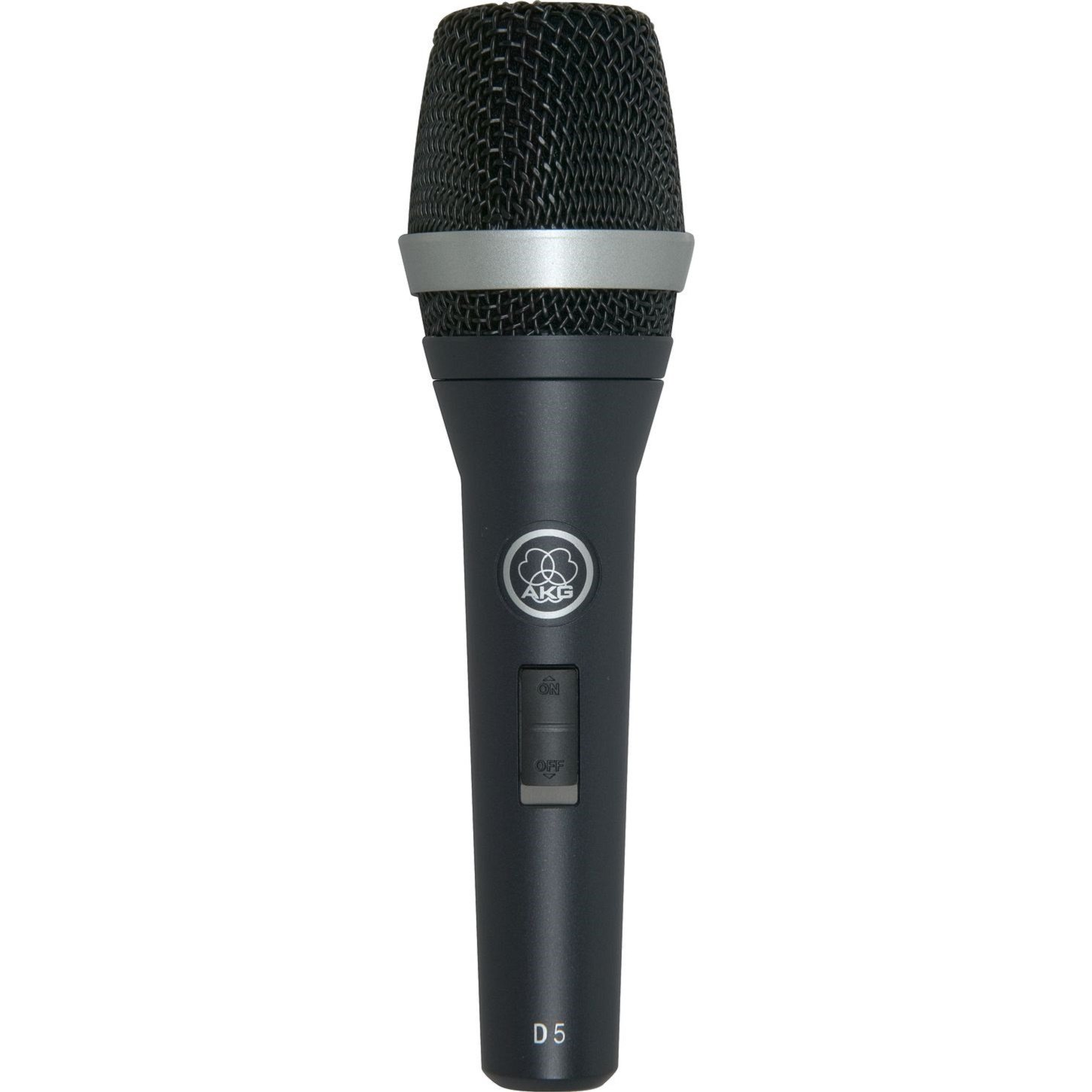 AKG D5S Professional Dynamic Vocal Microphone with On/Off Switch JBL