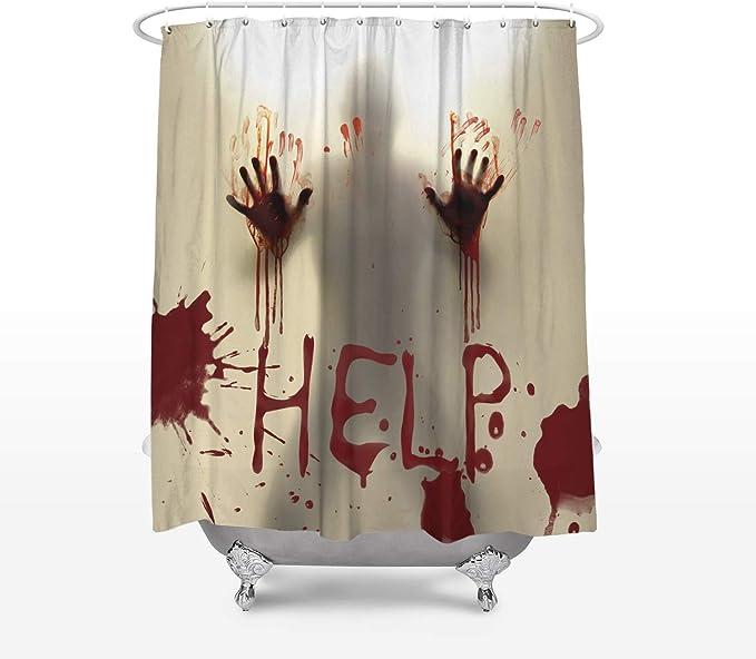 Caesar Shower Curtains Cortinas de Ducha de Color Blanco para ...