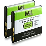 2x Akku / Batterie wie NP-BN1 für Sony CyberShot DSC-W310, DSC-W320, DSC-W330, DSC-W350, DSC-W360, DSC-W380, DSC-W390, DSC-W510, DSC-W520, DSC-W530, DSC-T99, DSC-T110, DSC-TF1, DSC-TX5, DSC-TX7, DSC-TX9, DSC-TX10, DSC-TX20, DSC-TX30, DSC-TX55, DSC-TX100V, DSC-WX5, DSC-WX7, DSC-WX9, DSC-WX50 und weitere…